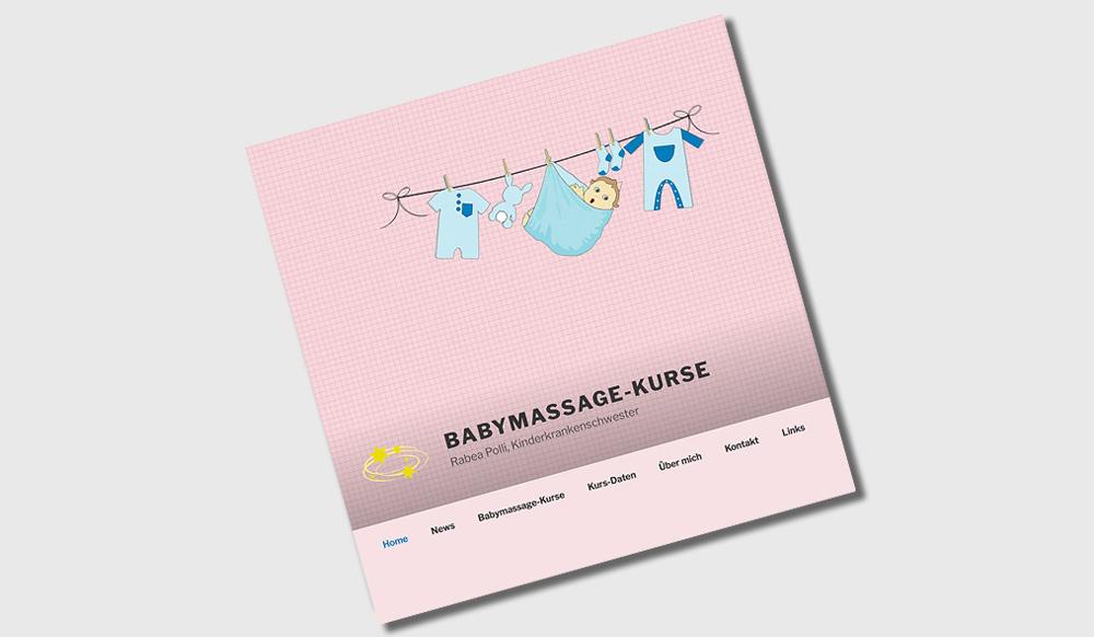 Babymassage Kurse | Rabea Polli | Zug